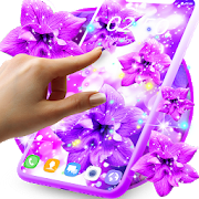 Purple live wallpaper 8.8