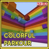 Colorful parkour for minecraft 2.3.3