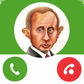 Fake Call Vladimir Putin 1