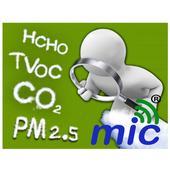 PM2.5 IAQ 空氣品質 二氧化碳CO2 空氣小屋監測 1.2.2
