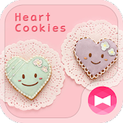 Cute Theme-Heart Cookies- 1.0.0