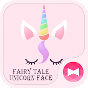Cute Wallpaper Fairy Tale Unicorn Face Theme 1.0.0