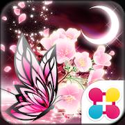 蝶夜曲-桜- for[+]HOMEきせかえテーマ 1.1