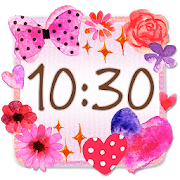 Cute Clock Widget 2 【FREE】 1.0.1