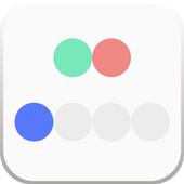 rearrange dots