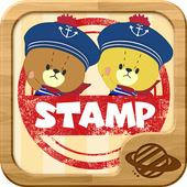 TINY TWIN BEARS' RYTHM STAMP 1.3