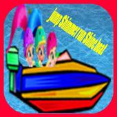 jump Shimmer run Shine boat 1.0