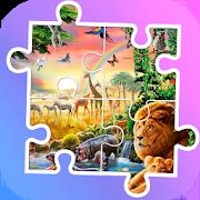 Tile puzzle jungle animals 1.0