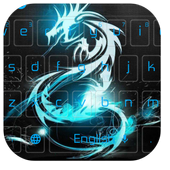 Neon Dragon Keyboard 10001002