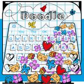 Doodle Gravity Keyboard Theme 10001005
