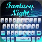 Fantasy forest keyboard 10001003
