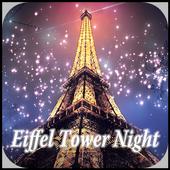 Eiffel Tower Night Keyboard 10001002