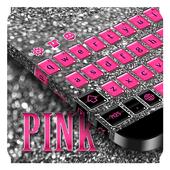 Pink Black Keyboard 10001009