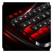 Black Red Keyboard 10001005