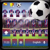 Barcelona Football Keyboard 10001004