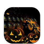 Vivid Halloween horror pumpkin skin