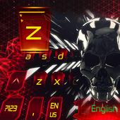 Tech 3D skull Eva keyboard 10001005