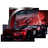 Racing car keyboard 10001002