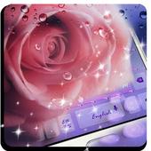 Droplet n Rose Keyboard 10001001