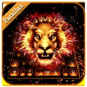 Parallax fire lion keyboard 10001019