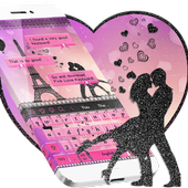 Pink Lover Keyboard Theme 10001004