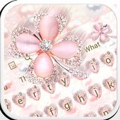 Clover Glitter Keyboard 10001009