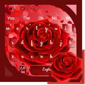 Red Rose Keyboard 10001006