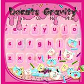 Sweet Donuts Gravity Keyboard Theme 10001002