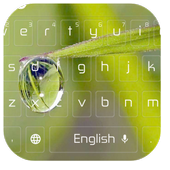 Water Drop Keyboard 10001001