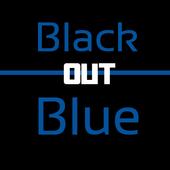 Black and Blue Keyboard Skin 1.2