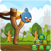 Knock Down Angry Chicken shooter Bird 9.0