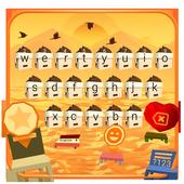 Lava Keyboard Theme
