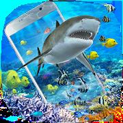 3D Ocean Shark Theme(shake&get effect) 1.0.2
