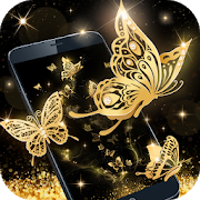 Gold Butterfly Live Wallpaper 1.2.0