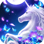 🦄Graceful Unicorn Live Wallpaper 1.1.2