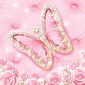 Pink Butterfly Live Wallpaper 1.2.2
