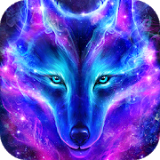 Night Sky Wolf Live Wallpaper 2.4.5