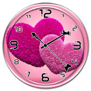 Fluffy Hearts Clock Live WP 1.0.0