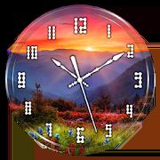 Sunset Clock Live Wallpaper 1.2