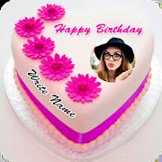 Name Photo On Birthday Cake 8.5.4