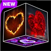 Heart Cube Live Wallpaper 1.1
