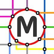 Brussels Metro & Tram Map 1.0