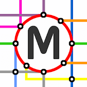 Prague Metro & Tram Map 1.0