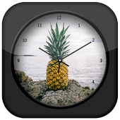 Pineapple Clock Live Wallpaper 1.1.0