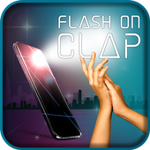 Flash on Clap - Clap to Flash Light on off 1.0