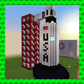 ARES-I – MISSION TO MARS. MCPE map 4.6
