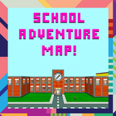 School adventure map for mcpe! 1.4.mcpe.mine.school.adventure.maps