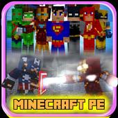Superheroes Mod for MCPE 1.0
