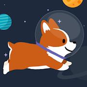 Space Corgi - Dog jumping space travel game 24