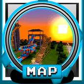 New Waterpark MCPE 2018 Minigame Adventure 1.0